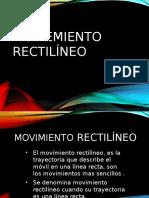 MOVIEMIENTO-RECTILINEO