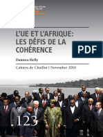L'UE Et l'Afrique ; Les Défis de La Cohérence - Iss.europa.eu, 2010.11