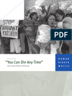 """""""You Can Die Any Time"""" Death Squad Killings in Mindanao"""