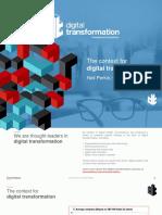 Context of Digital Transformation