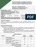 Temario Administracion en La Comunicacio Visual