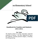 Student Handbook 2011-2012