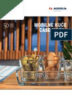 Adria House Mobilne Kućice - Katalog 2016