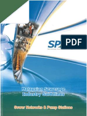 Malaysia Sewerage Industries Guidelines Volume 3 Sanitary Sewer Sewage Treatment
