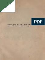Memórias Da Grande Guerra