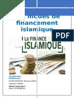 Exposé Modes de Financement