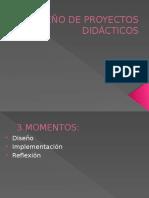 Diseño de Proyectos Didácticos
