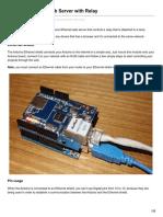 Randomnerdtutorials.com-Arduino Ethernet Web Server With Relay