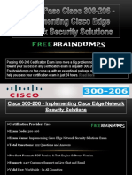 Free Cisco 300-206 Exams Question and Answers New - Freebraindumps