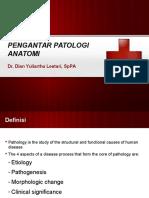 Pengantar Patologi Anatomi