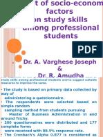 Presentation Study Skills