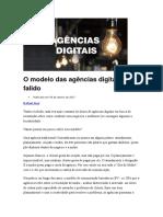 Rafael Rez - O Modelo Das Agências Digitais Está Falido