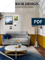 Interior Design - Floor Lamps Season Trends