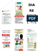 Leaflet penyuluhan Diare
