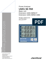 028 UMG96RM Modbus-Address List and Formulary English