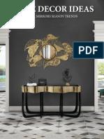 Home Decor Ideas - Wall Mirrors Season Trends