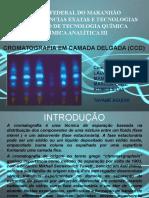 Cromatografia- Ccd e Ccdae Slides