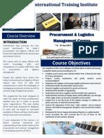 Course  Outline -Procurement and Logistics Management - Arusha - 2017.pdf