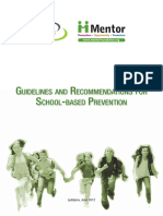 SI01 Guidelines Recommendations School-based Prevention Utrip
