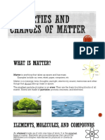 properties and changes of matter pp