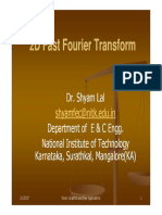 2Dimensional Fast Forier Transform_FFT