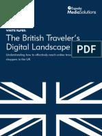 Whitepaper the British Travelers Digital Landscape