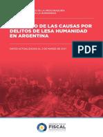 Lesa Humanidad Informe-Estadistico 2017