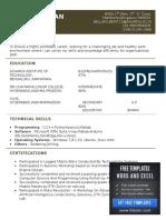 Welder Helper Resume (1)