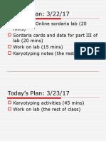 karyotyping notes