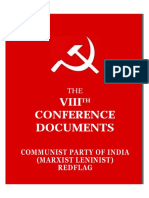 8th Conference Documents of CPI (ML) Red Flag