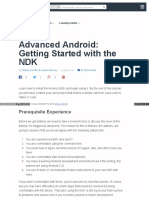 Advanced Android Getting Started