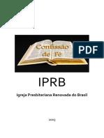 Confissão de Fé IPRB