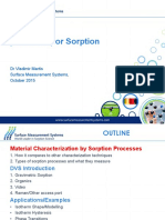 SMS Seminar - Dynamic Vapor Sorption