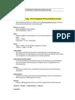 Informationstechnologie Summary