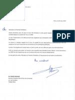 La lettre d'excuse de Hollande à la Cour des comptes