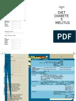 Brosur Diet Diabetes Melitus