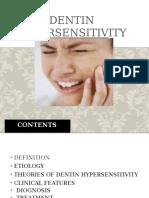 Hipersensitivitas Dentin