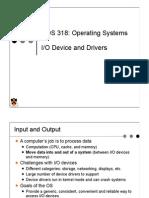 IO Device and Drivers
