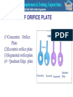 Different Types of Orifice Plates