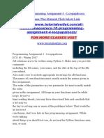 ECS 10Programming Assignment 4 - Loopapalooza