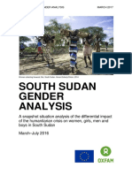 South Sudan Gender Analysis