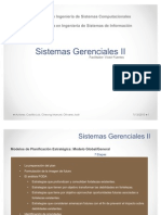 Modelos de PLanificación Estratégica