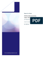 Online Customer Data Ofcom