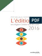 Editions en Val de Loire - étude 2016