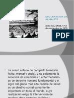 Declaración de Alma Ata.ppt
