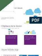 Desarrollo Móvil en Azure - Introducción