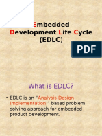 Embedded Development Life Cycle (EDLC)