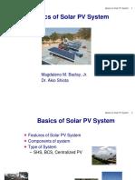 Basics of Solar PV System