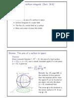 Surface Integ