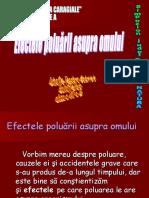 Efectele Poluarii Asupra Omului